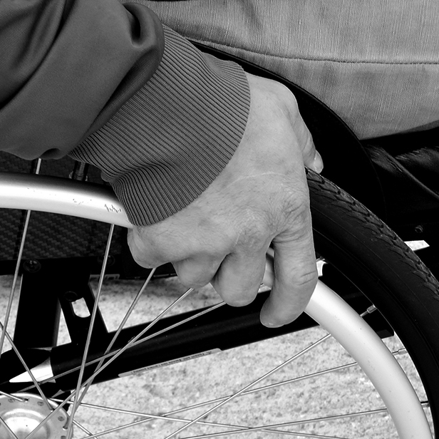 wheelchair 1230101 SQUARE
